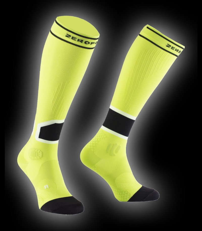 Zero Point Intense Compression Socks Men 2.0 lime