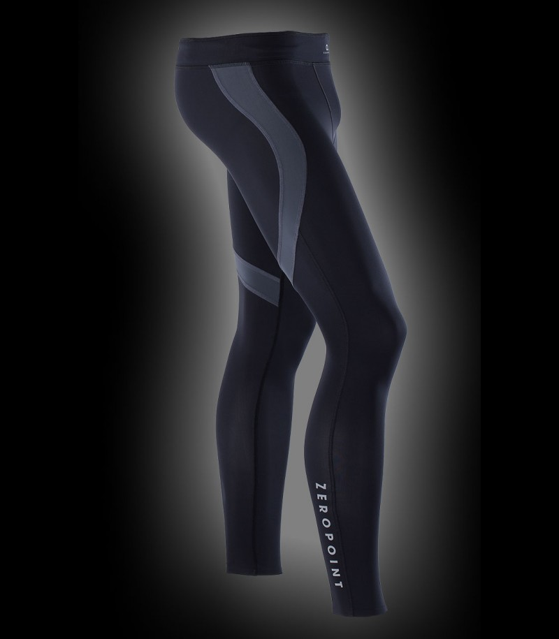 Zero Point Compression Tights Men black/grey