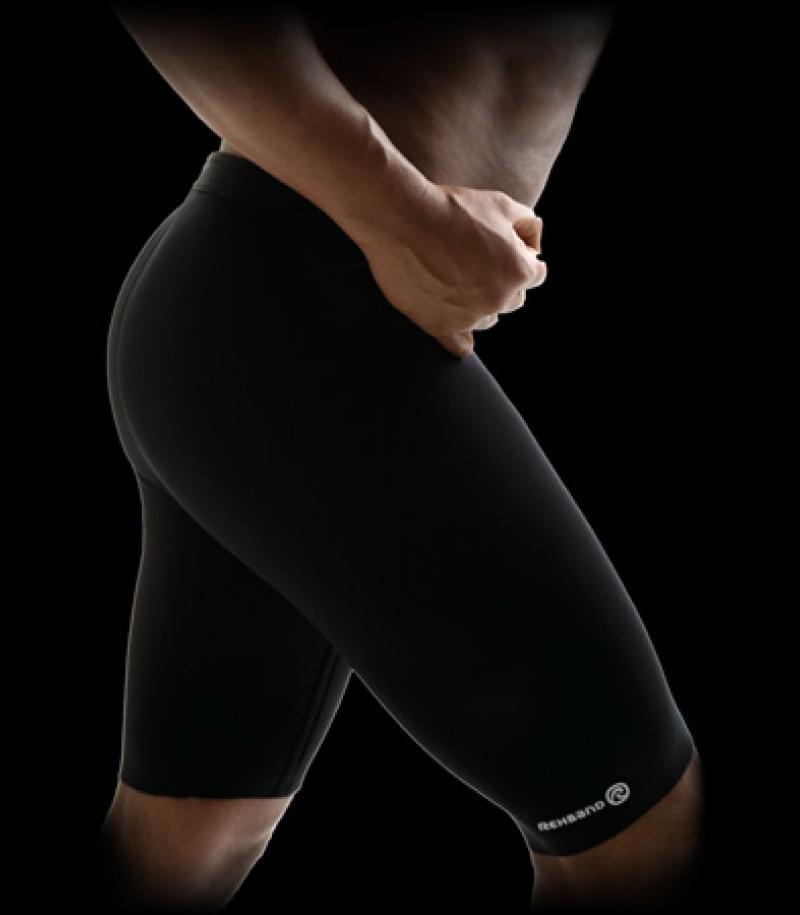 Pantalons Thermques Rehband Basic Line noir