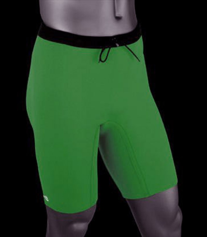 Pantalons Thermiques Rehband Basic Line vert