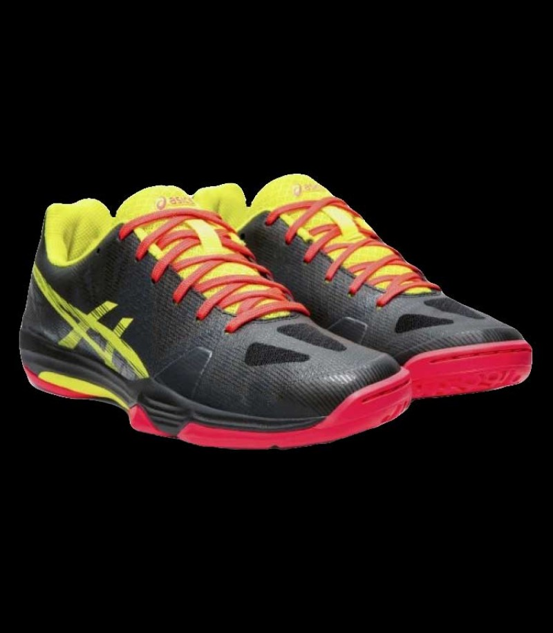 asics GEL FASTBALL 3 Lady black/yellow