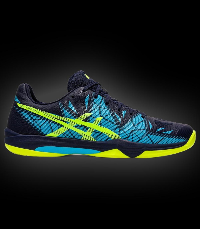 asics GEL FASTBALL 3 Men peacoat/safety yellow