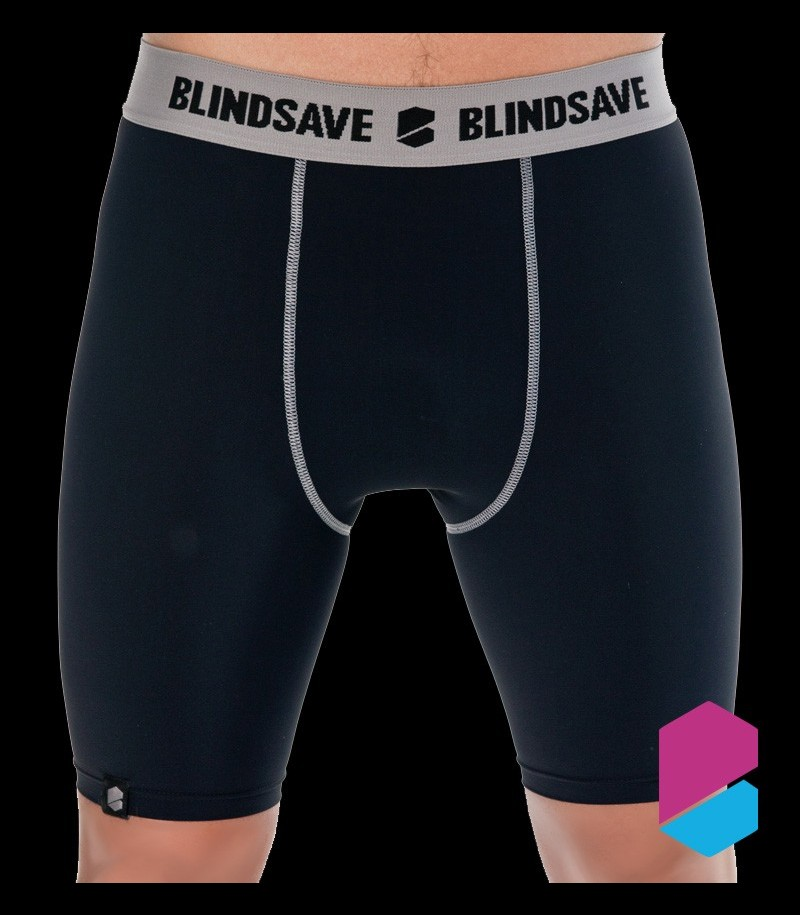 Blindsave Compression Shorts black