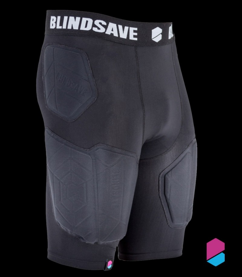 Blindsave Protective Shorts (Rebound Control & Cup)