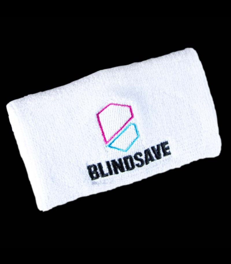 Blindsave Wristband Rebound Control white