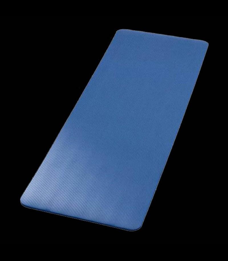 Tapis de gymnastique bleu