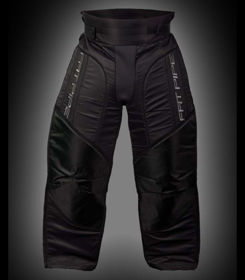 Fatpipe Pantalon de gardien Junior all black