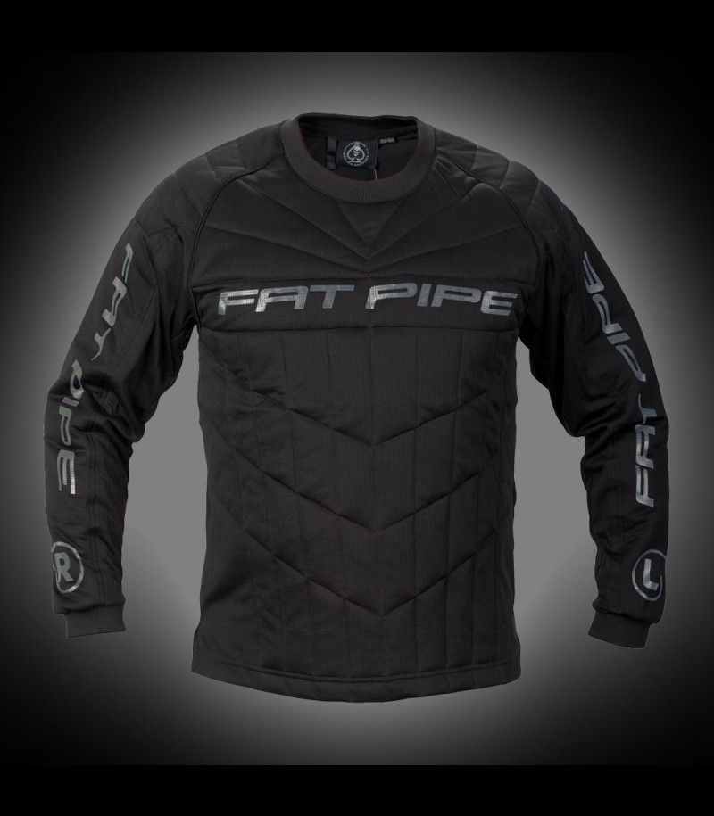 Fatpipe Maillot de gardien de but Junior All Black