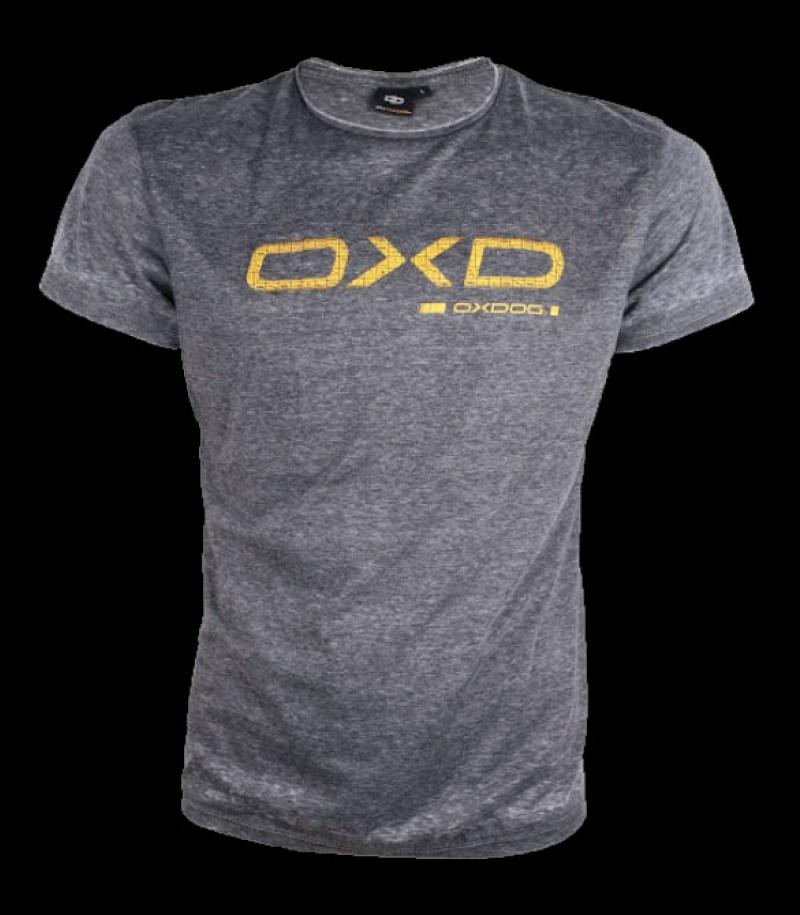 Oxdog Logo Tee grey