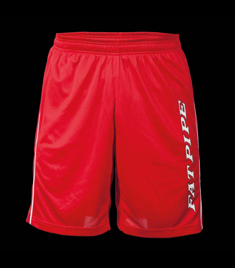 Fatpipe Players Shorts red