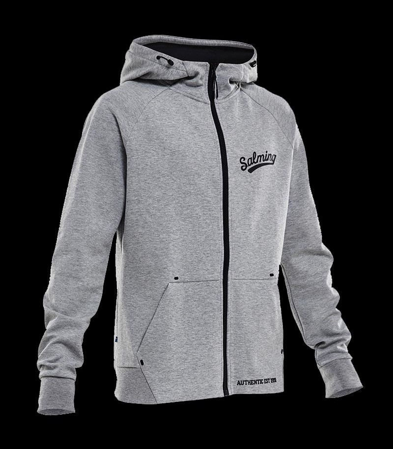 Salming Prime Hood Men grey