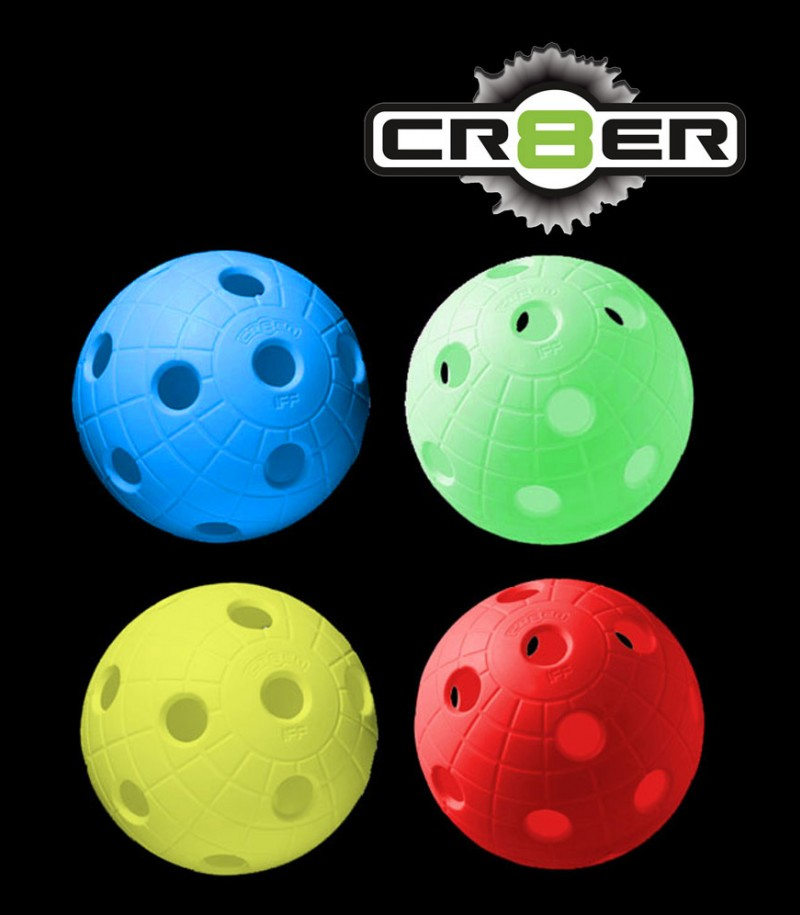 unihoc Balle de match CR8ER assortis (Lot de 100)
