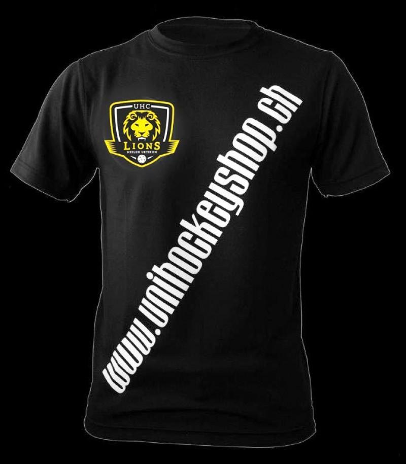 unihockeyshop.ch T-Shirt Badge Promo Lions Meilen
