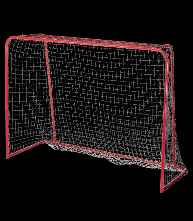 But d'unihockey avec filet et filet tombant 115 x 160cm
