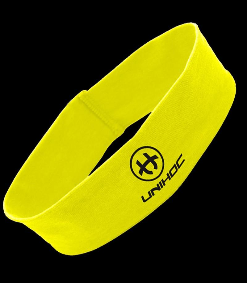 unihoc Headband Wrapper mid jaune-néon