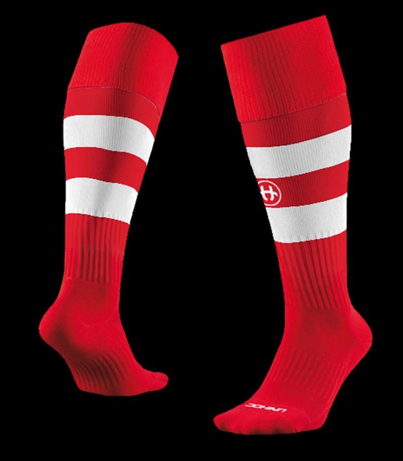 unihoc Chaussettes Control rouge