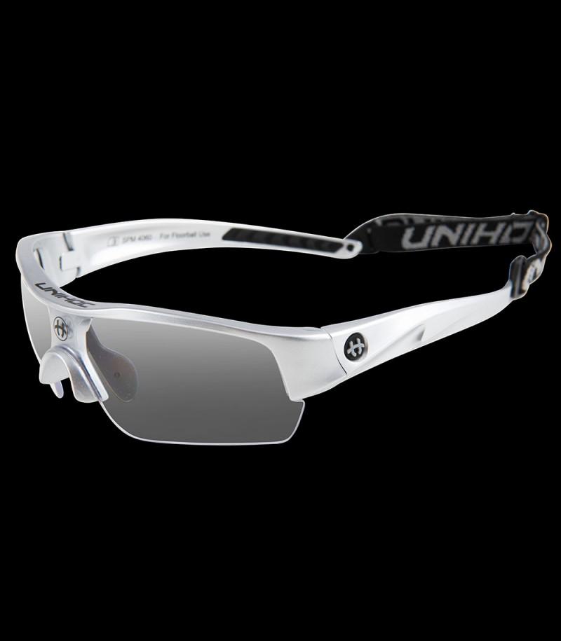 unihoc lunettes de sport Victory junior argent