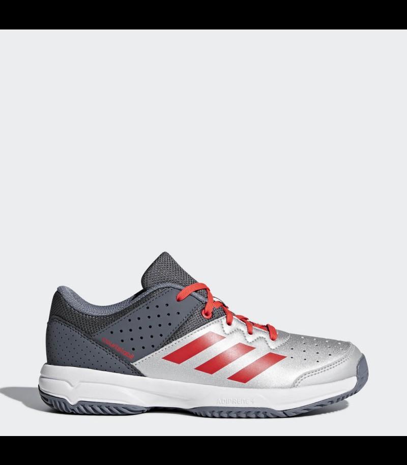 Adidas Court Stabil Junior silver/grey
