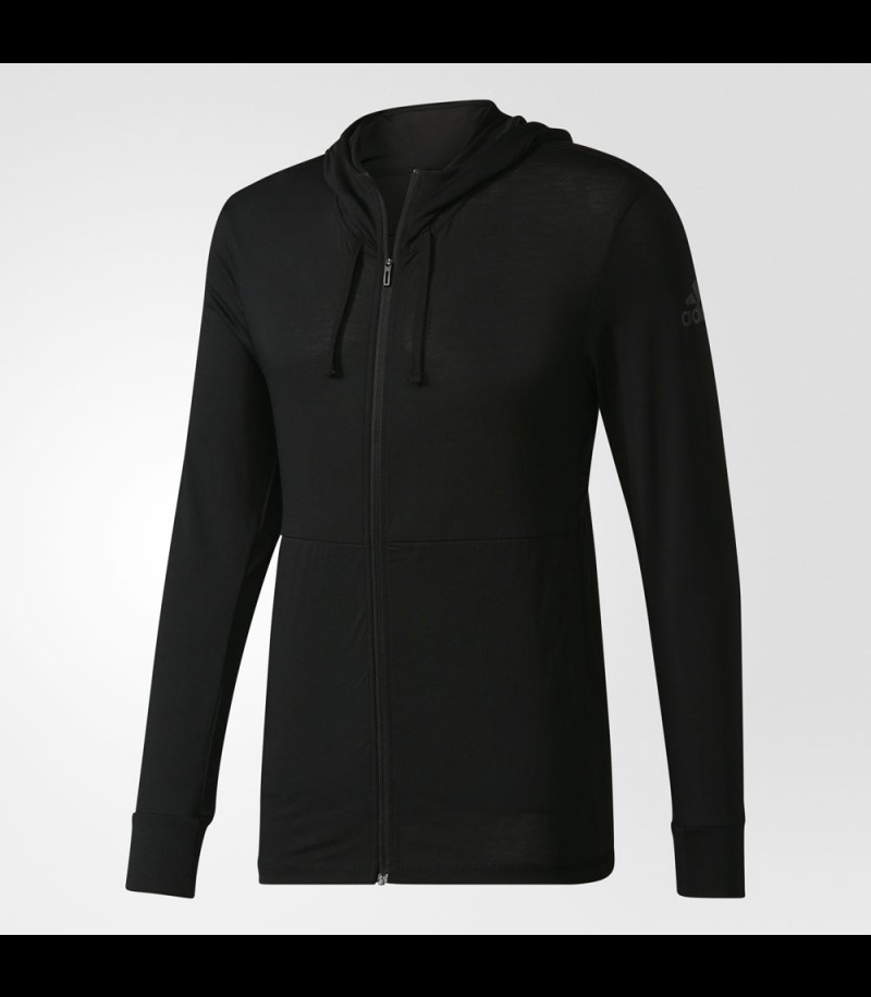 adidas Workout Fullzip Hood black