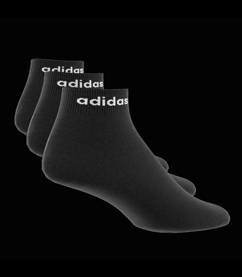 Adidas Ankle Socks black (3-Pack)