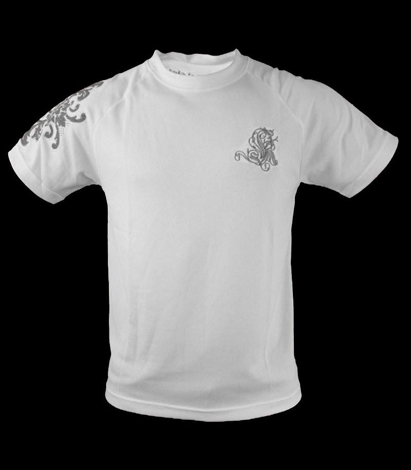 Louis XIV T-Shirt d'entraînement blanc argent
