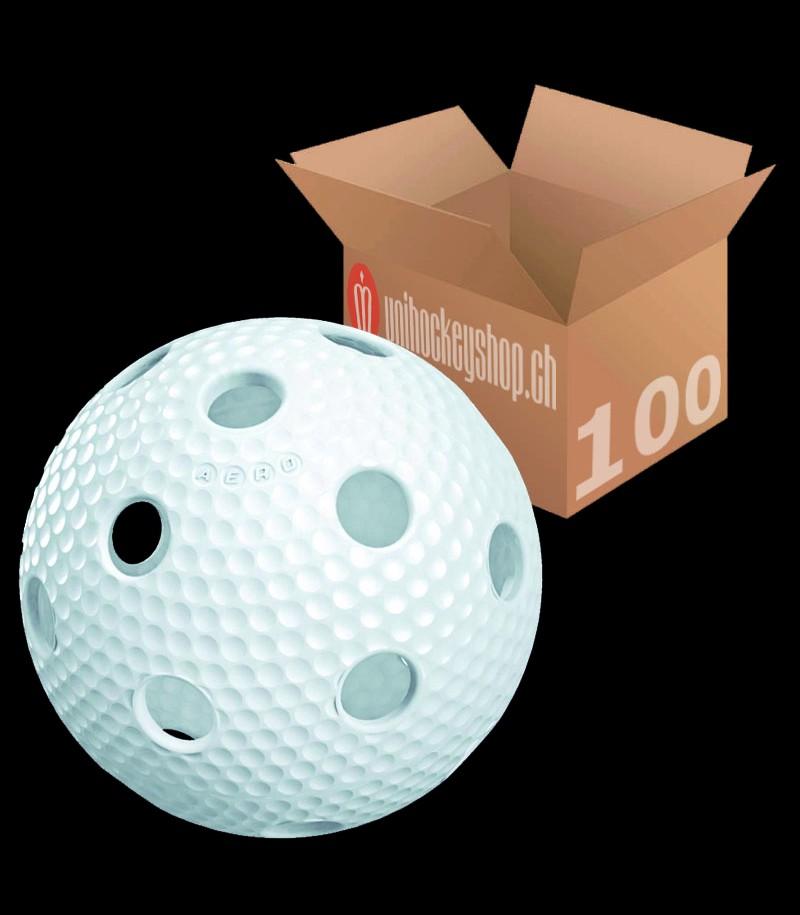 Salming Balle de match Aero blanc (Lot de 100)