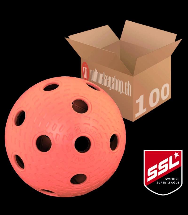 Klubbhuset Balle de match SSL apricot (Lot de 100)