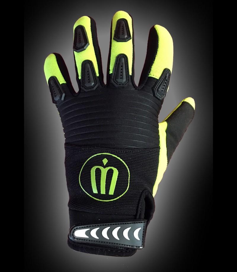 unihockeyshop.ch gants de gardien Badge jaune/noir