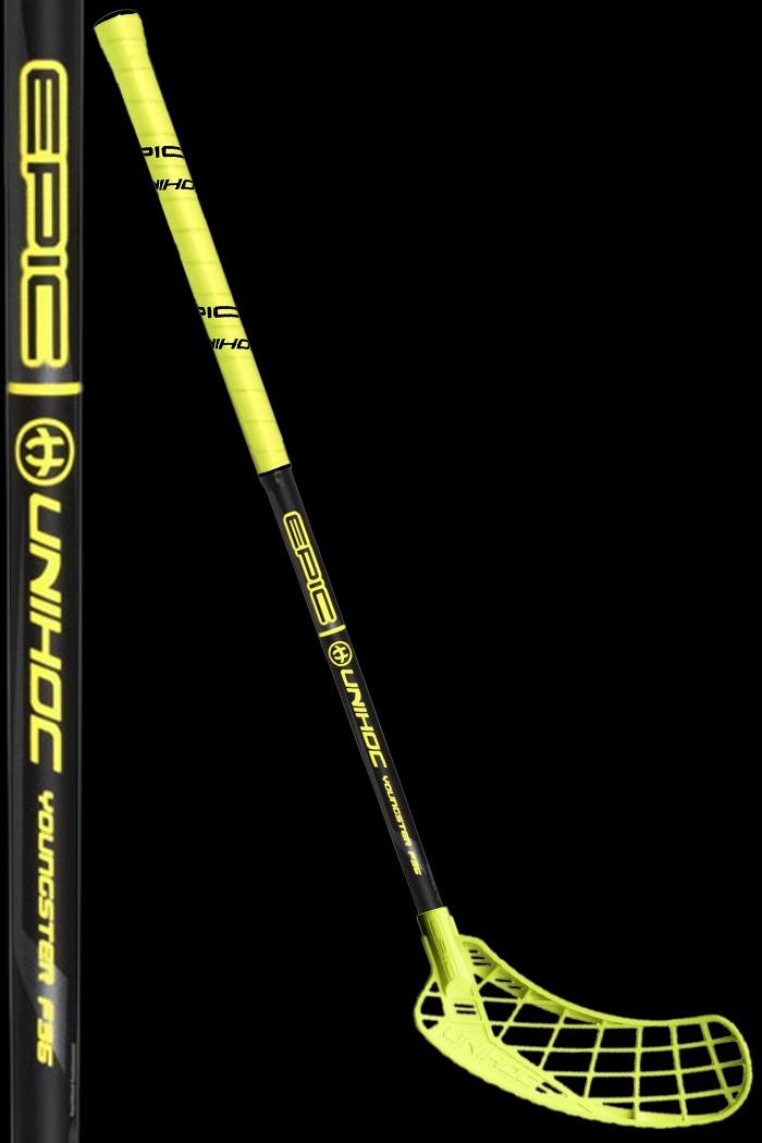 unihoc EPIC Youngster 36 gelb/schwarz