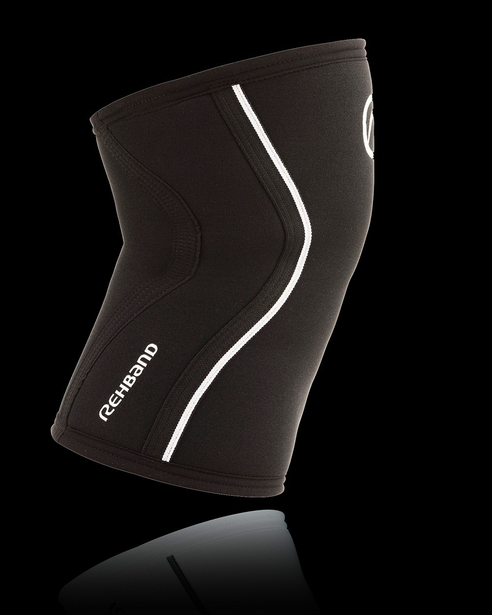Rehband RX Kniebandage schwarz 7mm