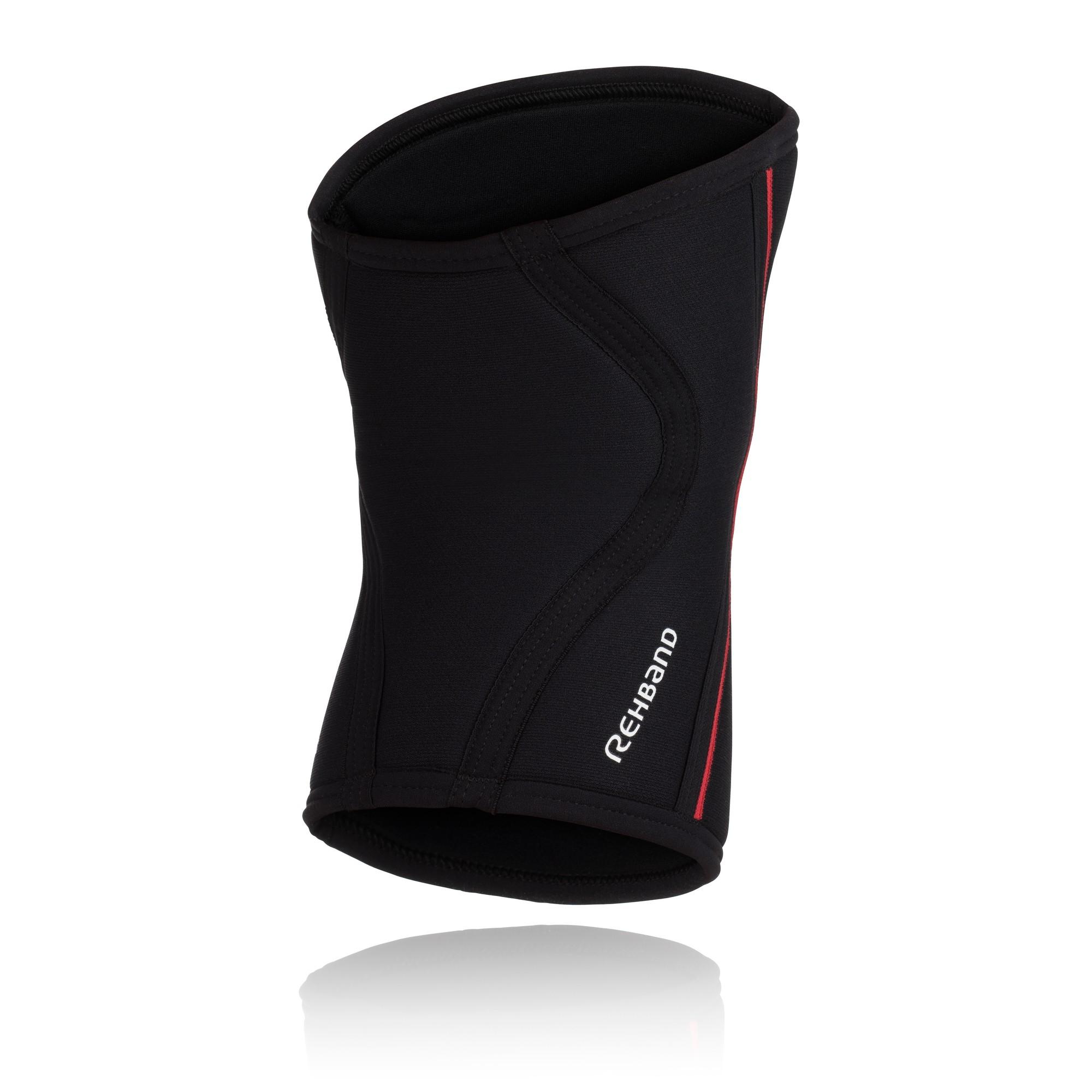 Rehband RX Kniebandage schwarz/rot 7mm
