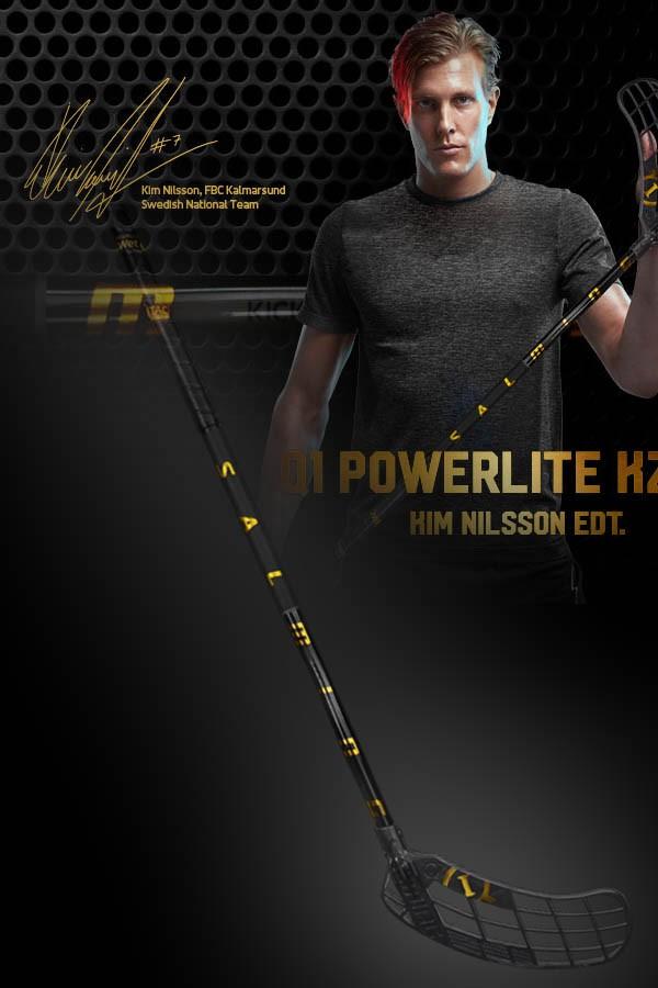 Salming Q1 Powerlite KickZone Kim Nilsson Worldcup Edition Junior