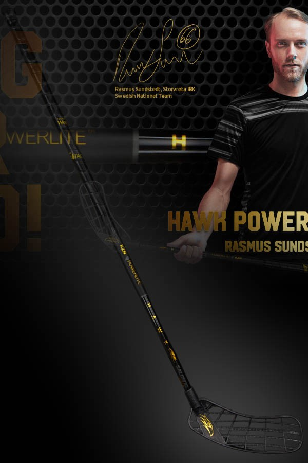 Salming Hawk Powerlite KickZone Rasmus Sundstedt Junior