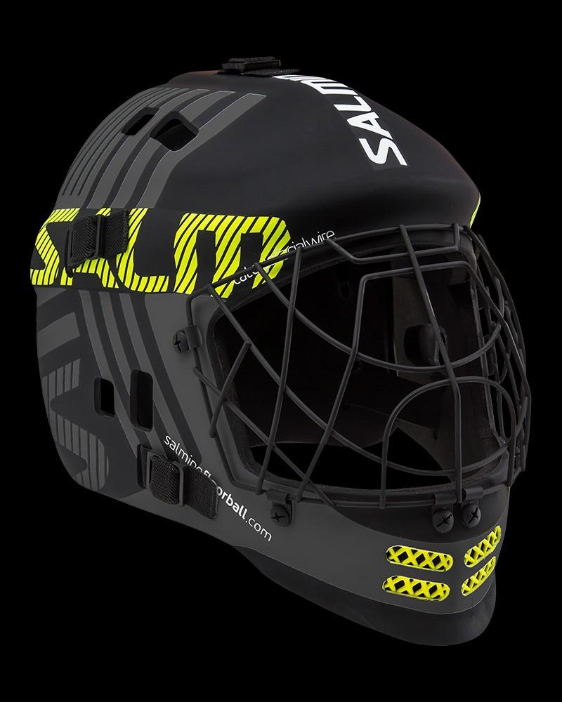 Salming Goaliemaske Core black/yellow