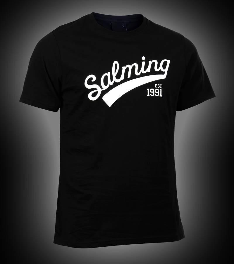 Salming Logo Tee Junior black