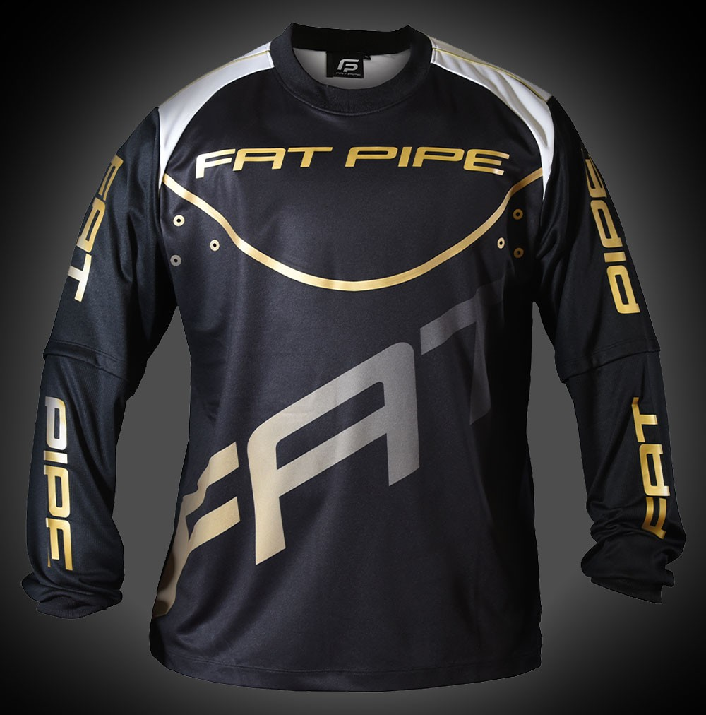 Fatpipe Goalieshirt black