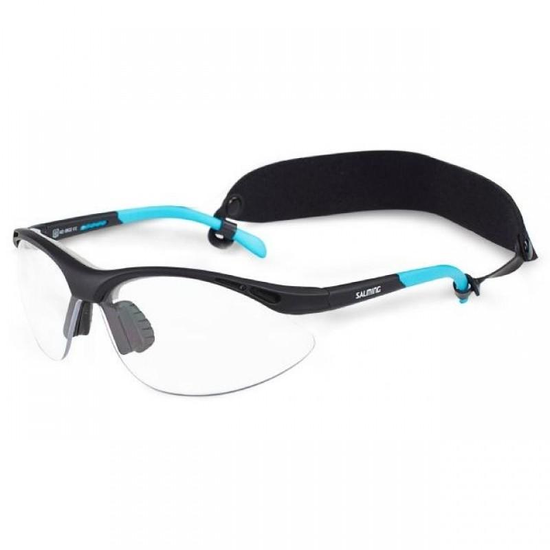 Salming Schutzbrille Base Junior black/blue