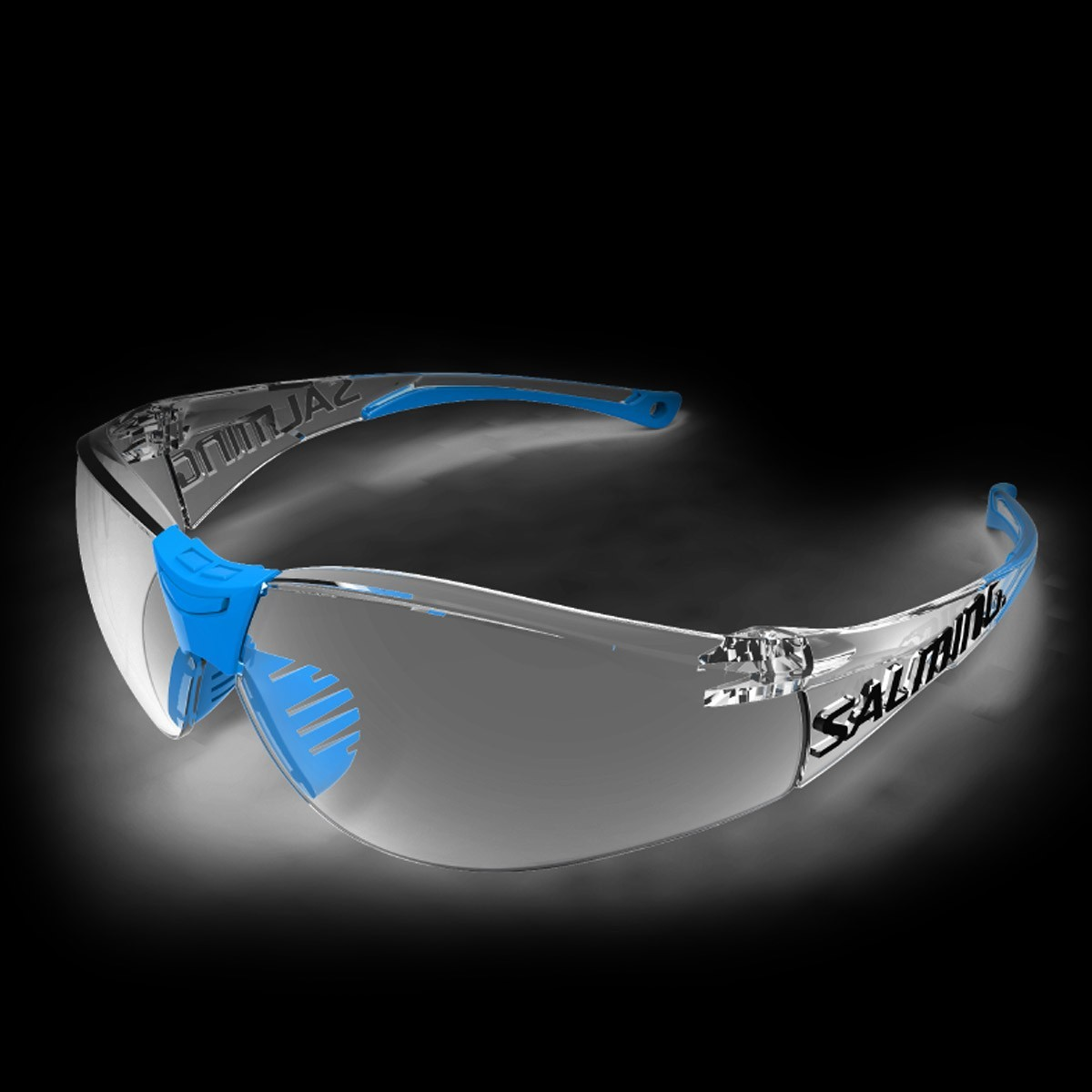 Salming Schutzbrille Split Vision Senior blau