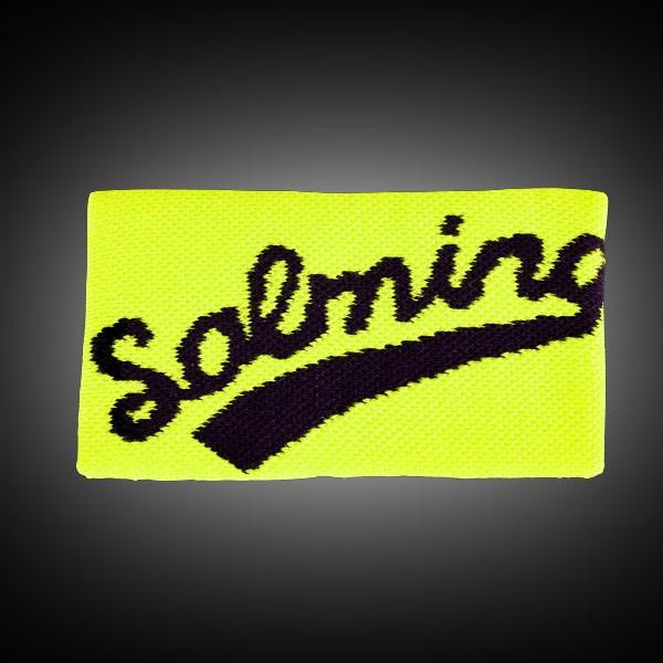 Salming Wristband Long yellow/black