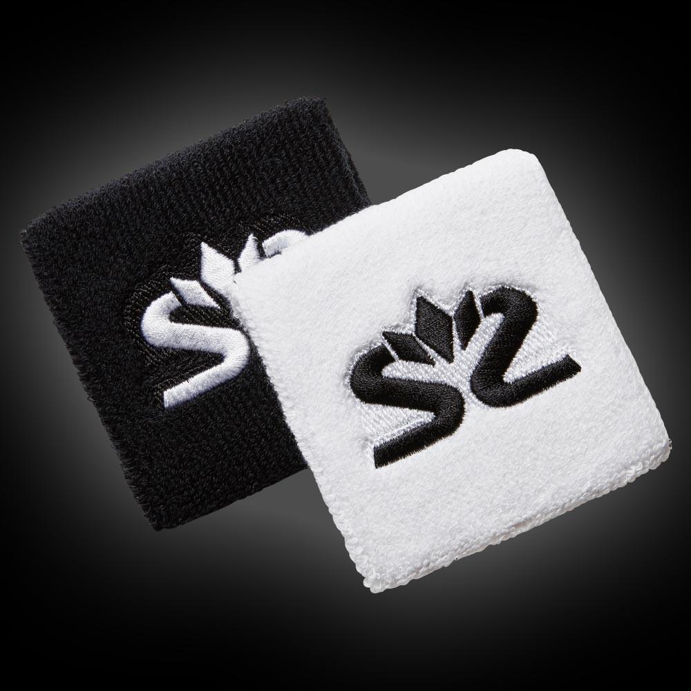 Salming Wristband Short diva white/black (2-Pack)