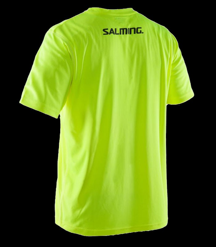 Salming Run Focus Tee Junior yellow