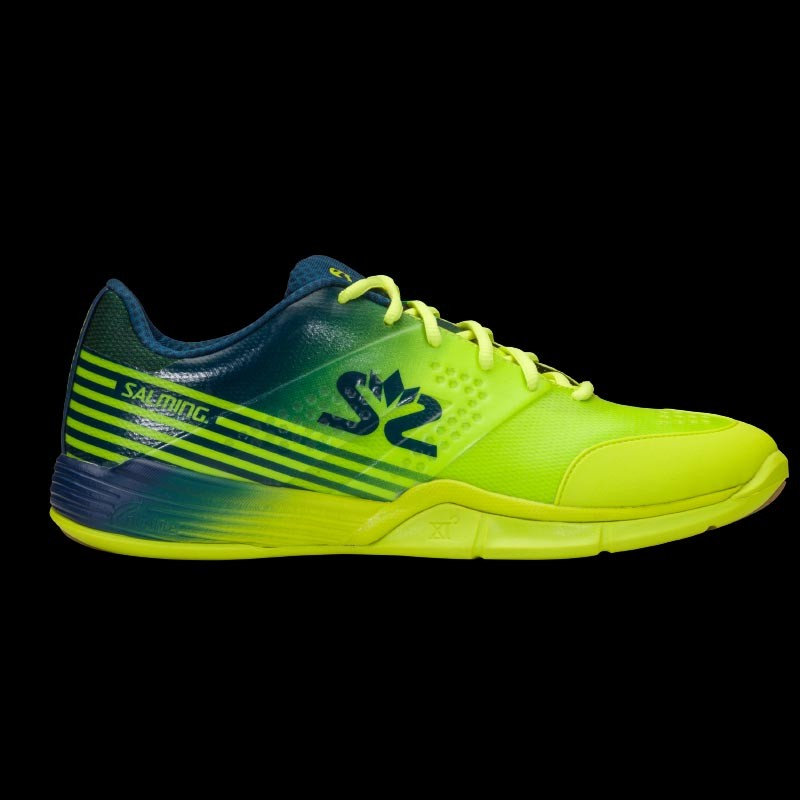 Salming Viper 5 Men fluo green/blue