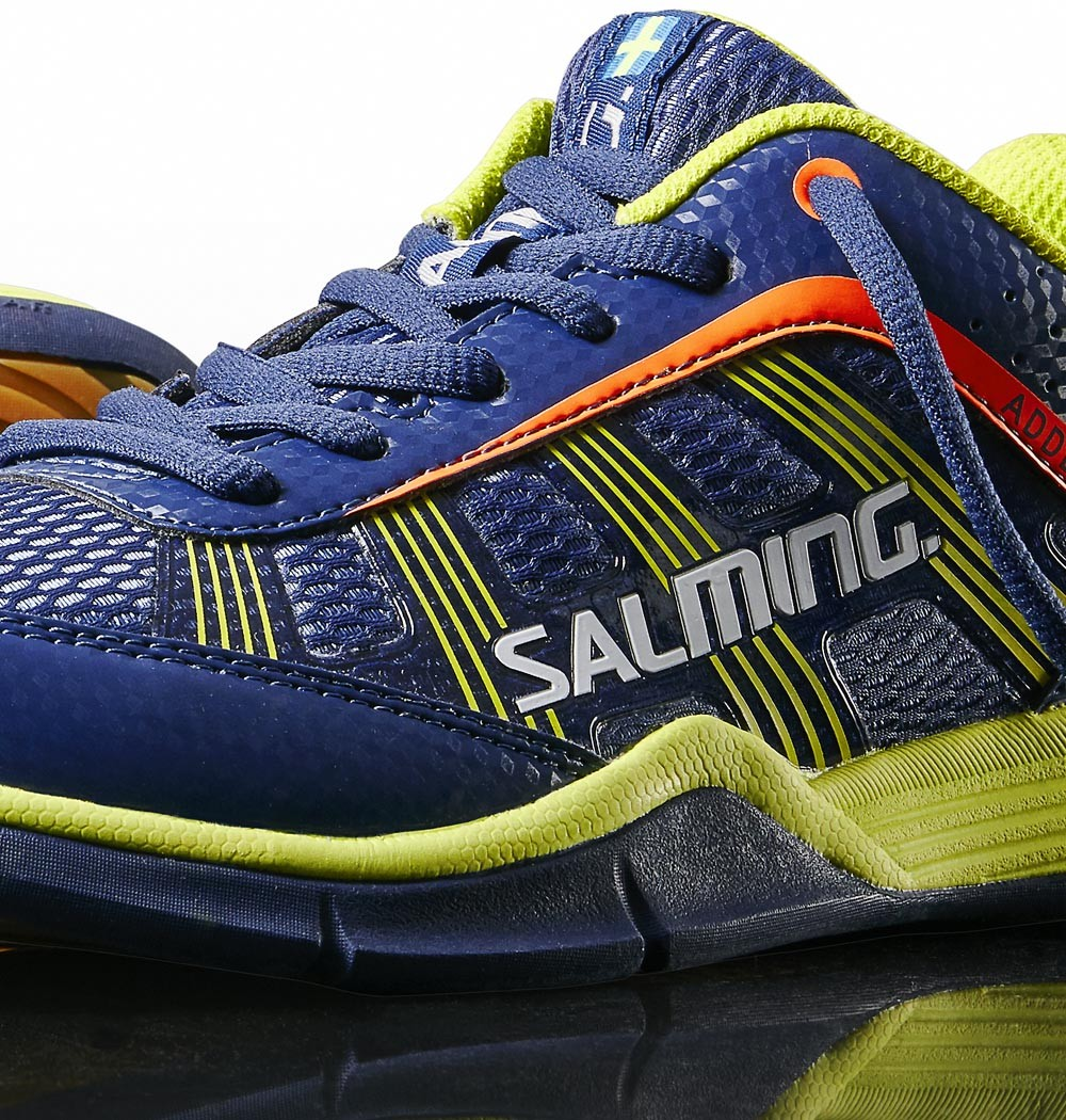 Salming Adder Junior blue/yellow