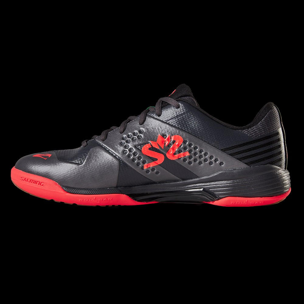 Salming Viper 5 Men gun metal/red