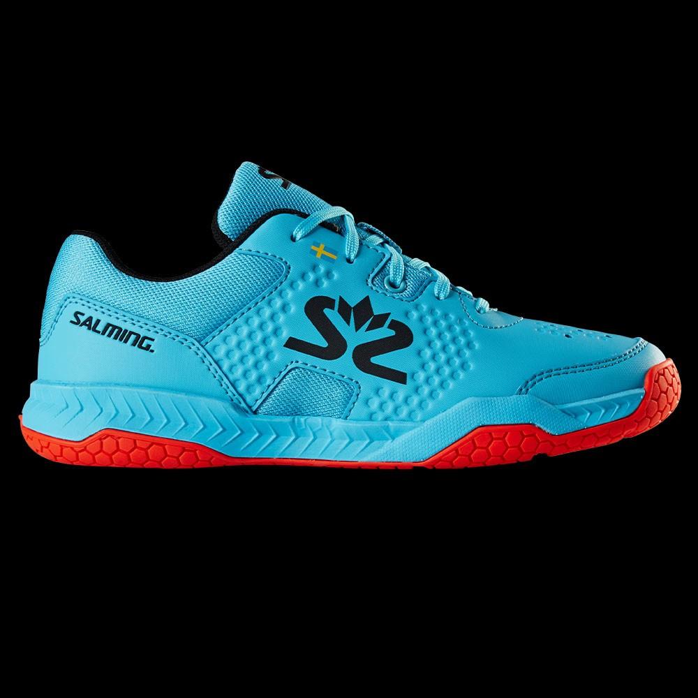 Salming Hawk Court Junior blue