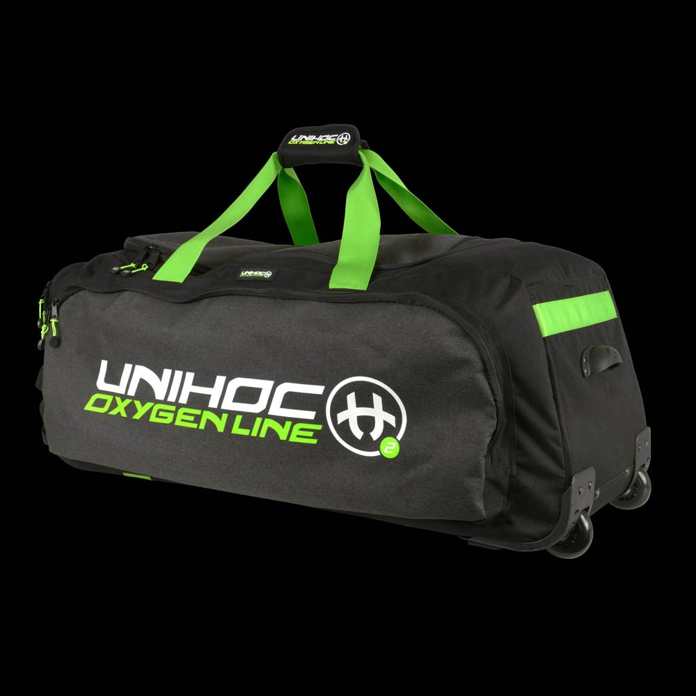 unihoc Gearbag Oxygen Line large mit Rollen