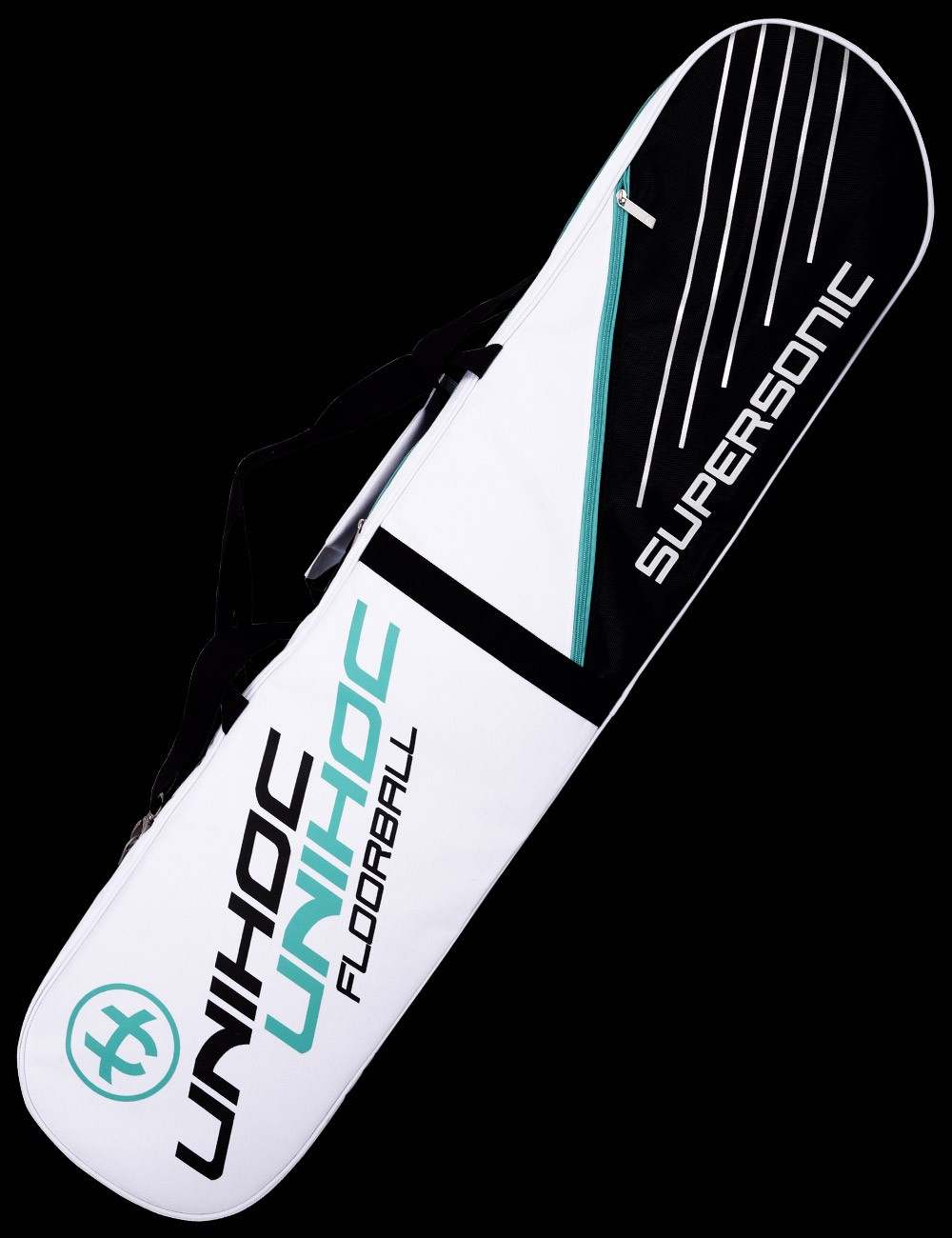 unihoc Toolbag Supersonic 4-Case white/turquoise