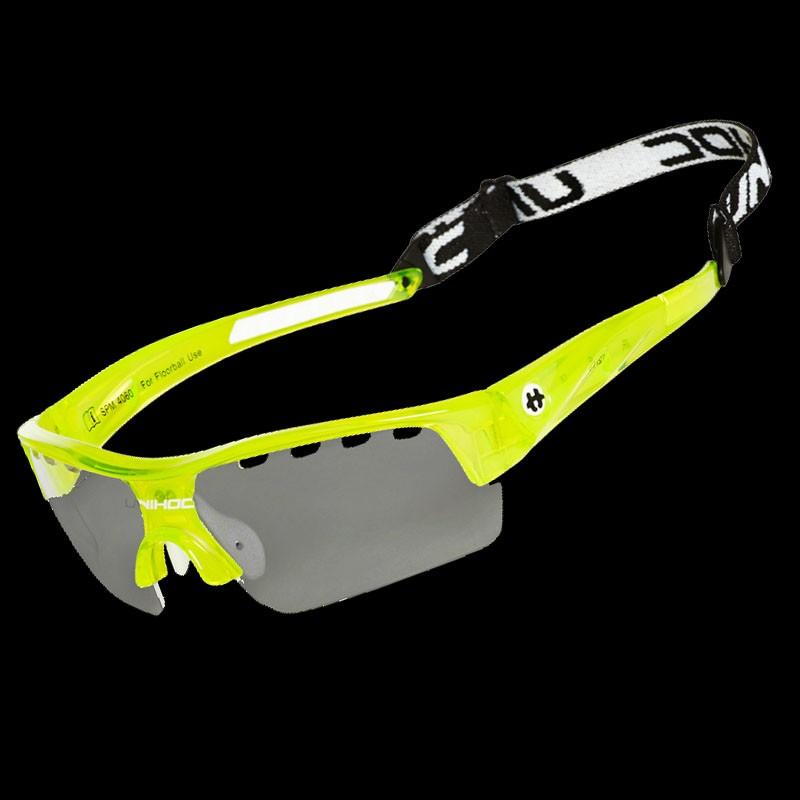 unihoc Sportbrille Victory Junior crystal yellow
