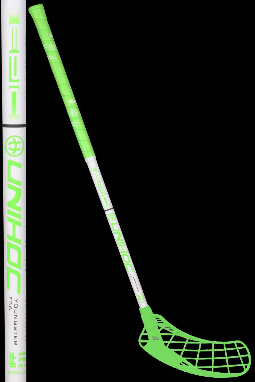 unihoc EPIC Youngster 36 neon grün
