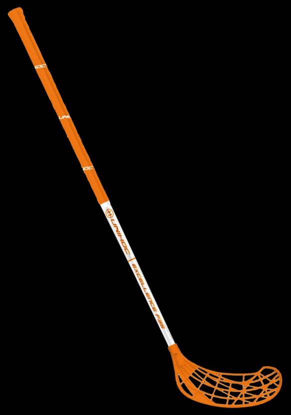 unihoc Excellence 35 orange/weiss